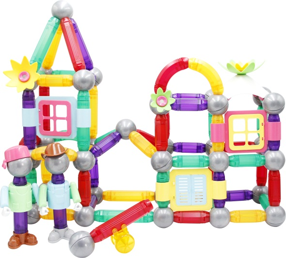 Funny Toy Magnetic Builders