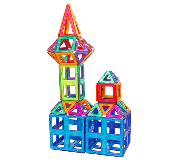 Magnetic Building Blocks for Primary School Students